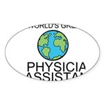 Worlds Greatest Physician Assistant Sticker