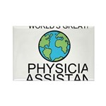 Worlds Greatest Physician Assistant Rectangle Magn