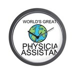 Worlds Greatest Physician Assistant Wall Clock