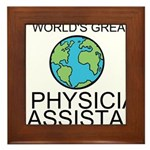 Worlds Greatest Physician Assistant Framed Tile