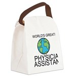 Worlds Greatest Physician Assistant Canvas Lunch B