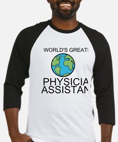 Worlds Greatest Physician Assistant Baseball Jerse
