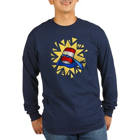 Super Soup Long Sleeve Dark T-Shirt