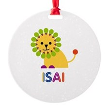 Isai Loves Lions Ornament