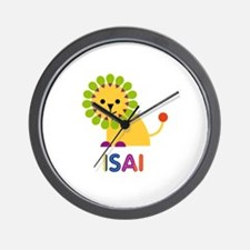 Isai Loves Lions Wall Clock