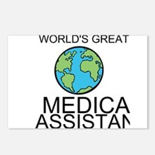 Worlds Greatest Medical Assistant Postcards (Packa