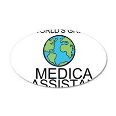 Worlds Greatest Medical Assistant Wall Decal