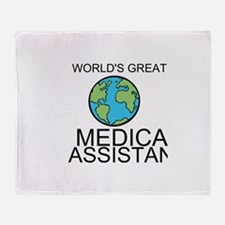 Worlds Greatest Medical Assistant Throw Blanket