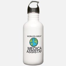 Worlds Greatest Medical Assistant Water Bottle