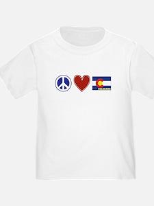 Peace Love Colorado T