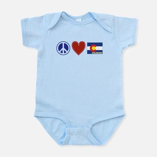 Peace Love Colorado Infant Bodysuit