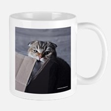 Noodles the cat - moving box Mug