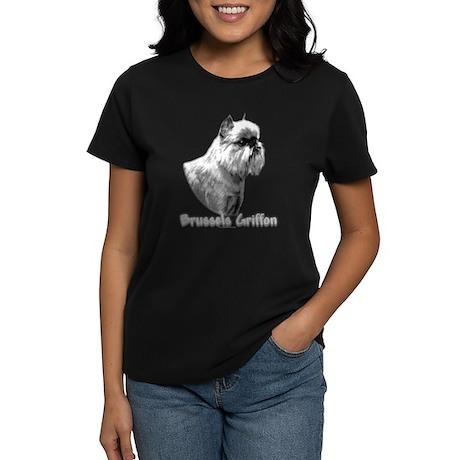 Brussels Charcoal Women's Dark T-Shirt
