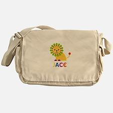 Jace Loves Lions Messenger Bag