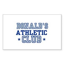 Donald Rectangle Decal