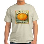 Zydeco Orange Wine Grey T-Shirt