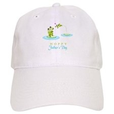 Hoppy Fathers day frogs Baseball Cap
