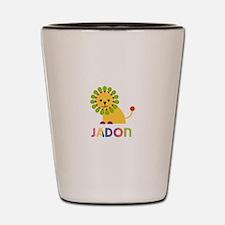 Jadon Loves Lions Shot Glass