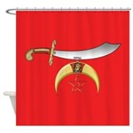 Shriner's Shower Curtain