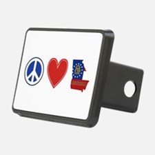 Peace Love Georgia Hitch Cover
