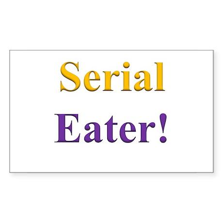 Serial Eater! Sticker