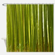 Bamboo abstract Shower Curtain