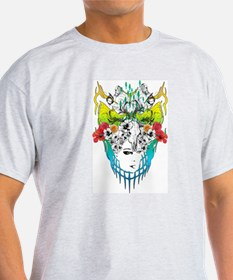 skull and women T-Shirt