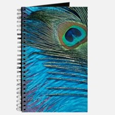 Purple and Teal Peacock Journal