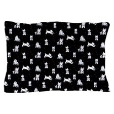 Block Party Westies Pillow Case