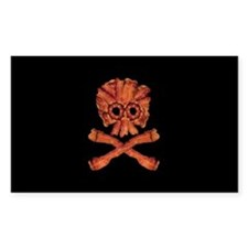 Bacon Skull and Crossbones Decal