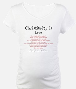 Christianity is Love Shirt