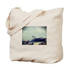 Casino Pier Tote Bag