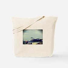 Casino Pier Tote Bag