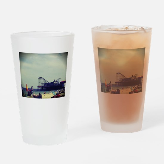 Casino Pier Drinking Glass