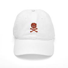 Bacon Skull and Crossbones Baseball Baseball Cap
