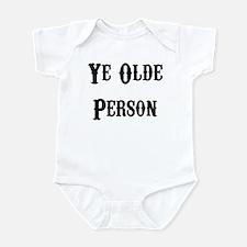 Ye Olde Person Funny Birthday Infant Bodysuit