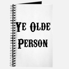 Ye Olde Person Funny Birthday Journal