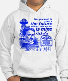 The Future Is Teslas Hoodie