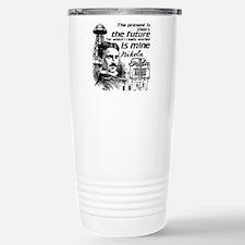 The Future Is Teslas Travel Mug