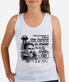The Future Is Teslas Tank Top