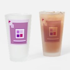 Lilac Drinking Glass