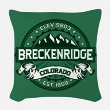 Breckenridge Forest Woven Throw Pillow