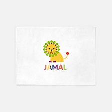 Jamal Loves Lions 5'x7'Area Rug