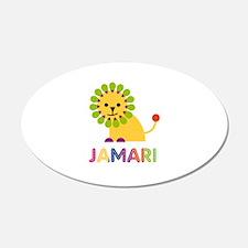 Jamari Loves Lions Wall Decal