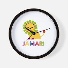 Jamari Loves Lions Wall Clock