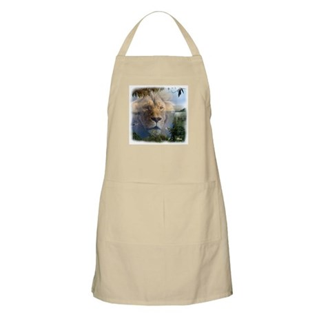 Lion and Lamb BBQ Apron