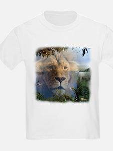 Lion and Lamb Kids T-Shirt