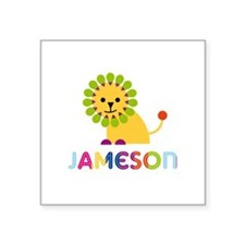 Jameson Loves Lions Sticker