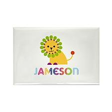 Jameson Loves Lions Rectangle Magnet