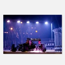 Cute F1 red bull Postcards (Package of 8)
